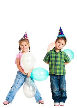 laste sünnipäevapidu