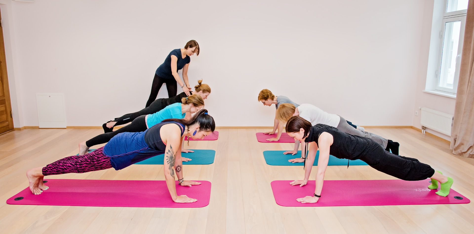 Pilates treening